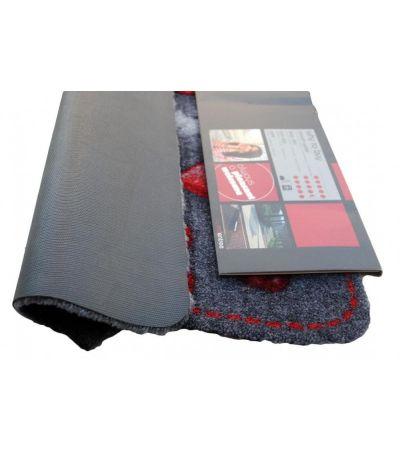 Ποδόμακτρο Elegance 210S2 hearts red 0,50x0,75 | Χαλιά ΙΩΑΚΕΙΜΙΔΗΣ 4 Γενιές