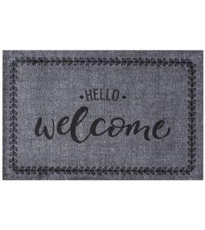 Ποδόμακτρο Ambiance 295 Hello Welcome 0,50x0,75 | Χαλιά ΙΩΑΚΕΙΜΙΔΗΣ 4 Γενιές